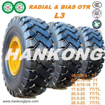 23.5r25, 20.5/70-16 off Road Tire Radial Tire Mining Tire OTR Tire