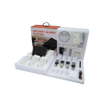 Wireless Burglar Alarm System Kit , Iphone Ios And Android Application Gsm Alarm Systems