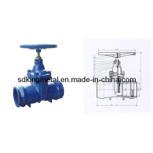 Non-Rising Stem Resilient Soft Seated Socket End Gave Valve
