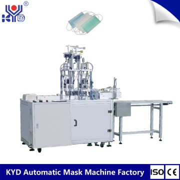 2018 semi automatic Medical Mask Outside Ear Loop Welding Machine with oversea after sales service