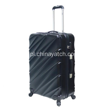 Light 4 Wheels Aluminium trolley Bagaż PET