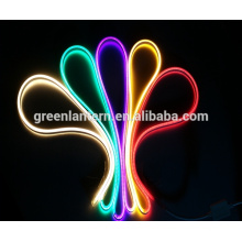 110/220 Вольт двойной боковой светодиодный гибкий неон полосы света IP67 для праздничное освещение, крытый / Открытый освещение