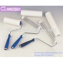 (Hot) Cleanroom 4 '' '6' '8' '10' '' 12 '' pelusa adhesiva Roller - Blanco