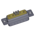 Subconector 7W2 Masculino Coaxial Power D