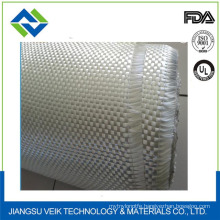 White waterproof and fireproof fiberglass cloth