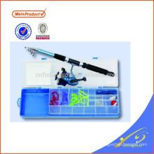 FDSF311A Haute qualité fournisseur de porcelaine canne à pêche et ensemble de bobine