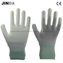 Полиуретановые защитные рукавицы для рабочих защитных гуантов (PU002)