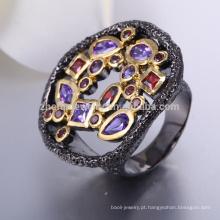 Preço anel de zircônio preto anel de tungstênio preto