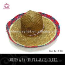 Patron de sombrero en paille