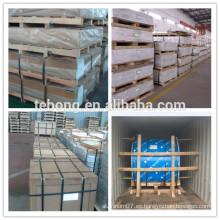 Hoja de suelo de remolque de aluminio de 1,5 mm de 2,5 mm serie 3000
