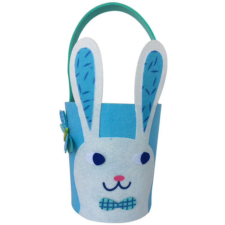 Easter Blue Bunny Basket