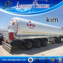 40cbm LPG Tanker Semi Truck Trailer