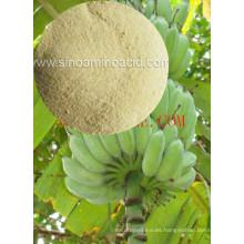 Fertilizante orgánico compuesto de aminoácidos