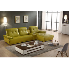 Modern Leather Sofa, Sectional Sofa, Living Room Furniture (951)