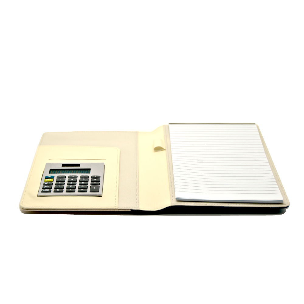 Calculadora de notebook multifunções PU Notebook com nota fixa