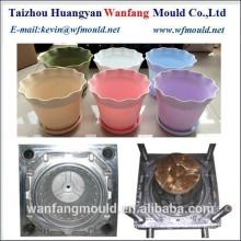 high quality flower pot mold manufacturer in taizhou/plastic flower pot mould