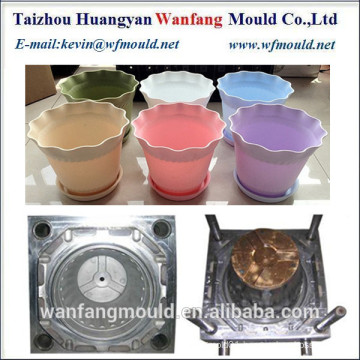 high quality flower pot mold manufacturer in taizhou/plastic flower pot mould