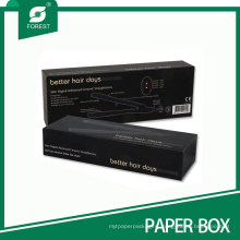 Black Paper Packing Box for Curling Iron Flat Iron