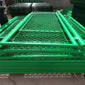Om Green Chain Link Mesh Fence te installeren