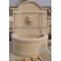 Stone Carving Wandbrunnen für Garten Geschnitzte Wasserbrunnen (SY-W059)