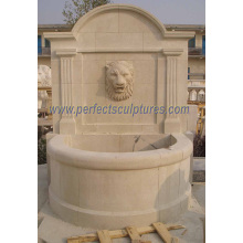 Stone Carving Wall Fountain for Garden Carved Water Fountain (SY-W059)