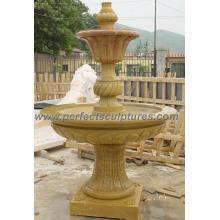 Fontaine d'eau de scène pour la sculpture de pierre de jardin (SY-F206)