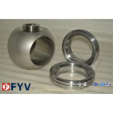 Bolas de válvula Ss de alta qualidade para válvula de esfera