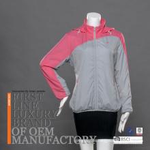 Varios colores impermeable secado rápido con capucha ropa de protección solar