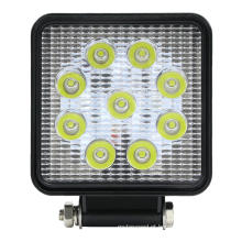 27W Square Bright LED Spotlight Work Light Car