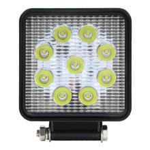 Voiture de lumière de travail de projecteur à LED lumineuse carrée de 27W