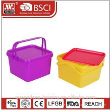 recipiente de alimento plástico promocionais com impressão como presente