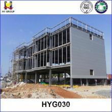 Construcción de un edificio de acero prefabricado