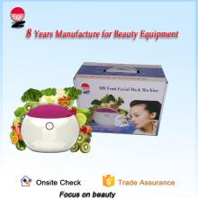 Máquina de máscara facial de frutas e vegetais inteligente e bonita