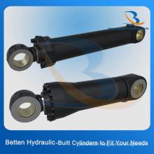 Cylindre hydraulique de petite taille de 50 tonnes pour les véhicules de construction (stabilisateur de grue, camion, dumper)