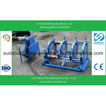 90mm/355mm HDPE Pipe Fittings Thermofsuion Welding Machine