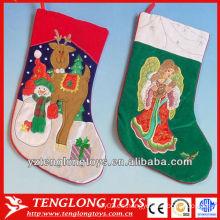 Calcetines divertidos de la Navidad de los niños de la alta calidad modificados para requisitos particulares