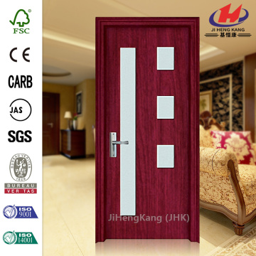 Toilet Waterproof PVC Price Interior Sliding Glass Doors