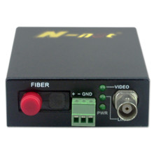 Low speed data HD fiber video converter