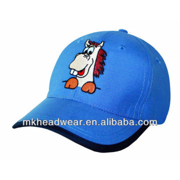 2013 boy's fashion summer cap with embroidery patch work