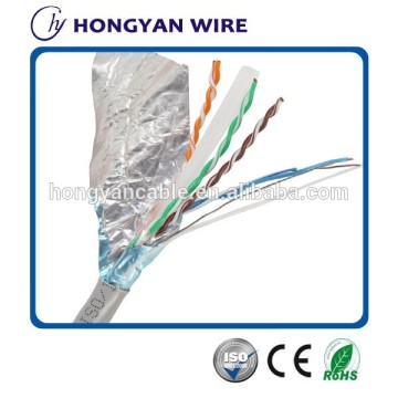 Berkelajuan tinggi Twisted pair ftp cat6 cable
