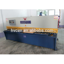 steel plate shearing machine/qc12y swing beam shearing machine