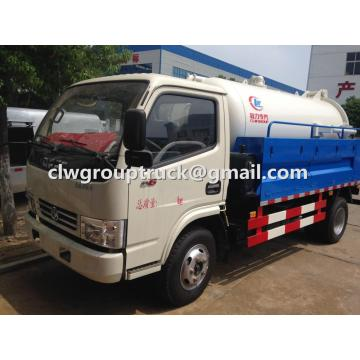CLW GROUP TRUCK Dongfeng 4X2 5CBM Vacuum Sewage Suction Truck
