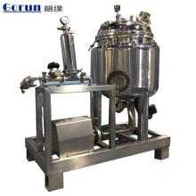 Tanque agitado de mistura farmacêutico da mistura do tanque de mistura