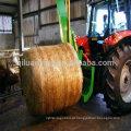 uso de agricultura Envoltório de rede de fardo de feno de feno