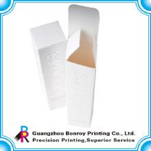 elegante caja de perfume de lujo a todo color de embalaje de belleza de impresión con logotipo personalizado