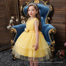 High Quality Cosplay Costume Yellow One-piece Skirts