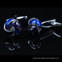Novel Blue Knot Shirts Cufflinks (Hlk30301)