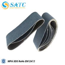 10 bandes de ponçage de PACK bandes abrasives abrasives de bande de papier pour le polissage