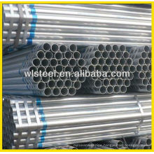 Q235 galvanized tube steel for metal fence posts