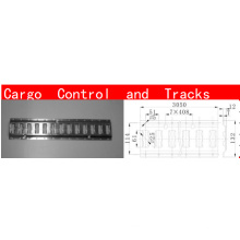 truck/van/trailer cargo track bar control truck curtain parts in shanghai